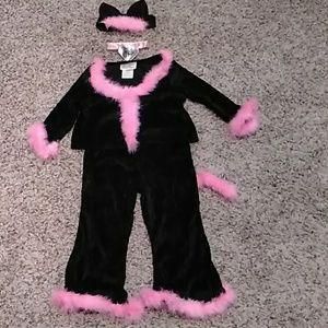 ❤HOST PICK Girls 3-4 Kitty costume.